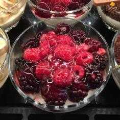 Orman Meyveli Kaşık Pasta