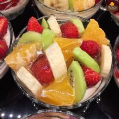 Meyveli Kaşık Pasta