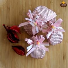 Bebekli Çiçek Baston (Pembe)