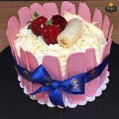 Çilekli - Muzlu Pasta 2 No