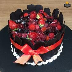 Orman Meyveli - Çikolata Pasta 1 No