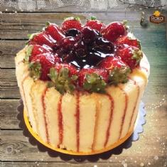 Böğürtlenli - Frambuazlı Pasta 1 No