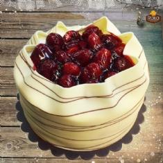 Çilekli Pasta 1 No