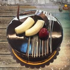 Muzlu - Çikolatalı Pasta 1 No