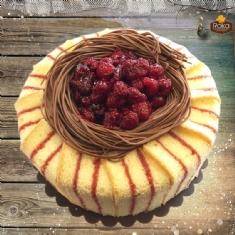 Frambuaz (Kuş Yuvası) Pasta 2 No