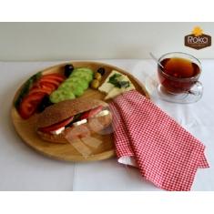 Kepekli Sandviç (Beyaz Peynirli)
