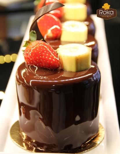 Çikolata - Muz  Pasta
