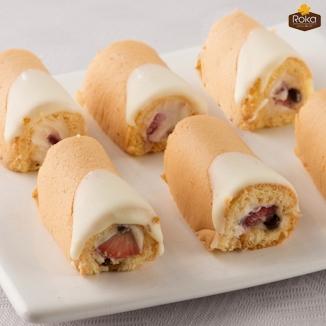 Mini Rulo Pasta (Çilekli)