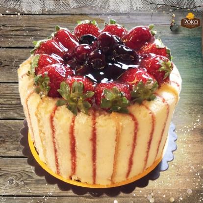 Böğürtlenli - Frambuazlı Pasta 2 No