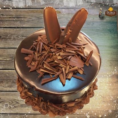 Çikolatalı Pasta 1 No