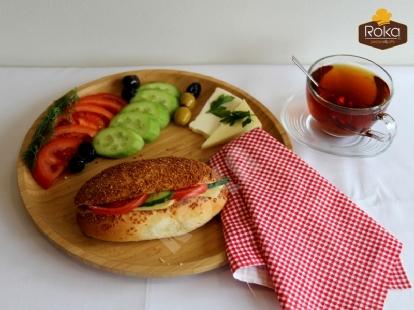 Susamlı Sandviç (Kaşarlı)