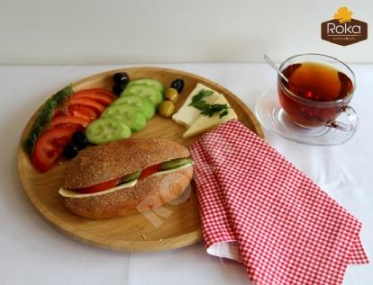 Kepekli Sandviç (Kaşarlı)