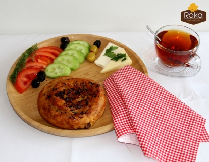 Gül Böreği (Kıymalı)