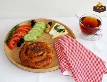 Gül Böreği (Patatesli)